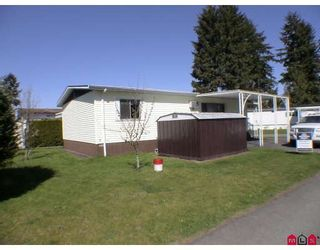 "Photo 2: 128 3665 244 Street in Langley: Otter District Manufactured Home for sale in ""LANGLEY GROVE ESTATES"" : MLS®# F2909131"