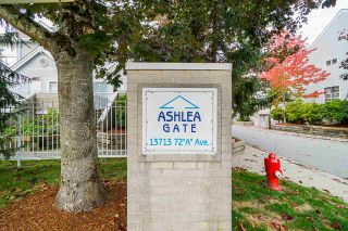 """Photo 2: 30 13713 72A Avenue in Surrey: East Newton Townhouse for sale in """"ASHLEA GATE"""" : MLS®# R2507440"""