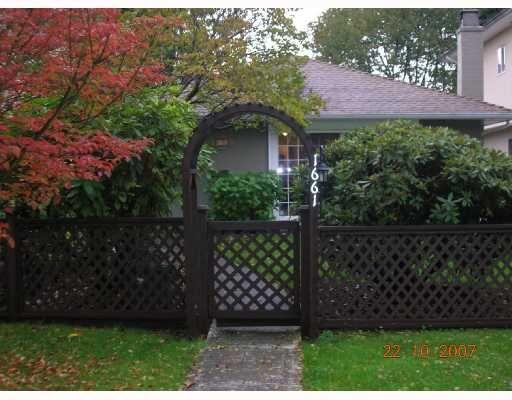 "Main Photo: 1661 PHILIP Avenue in North_Vancouver: Pemberton NV House for sale in ""PEMBERTON"" (North Vancouver)  : MLS®# V674952"