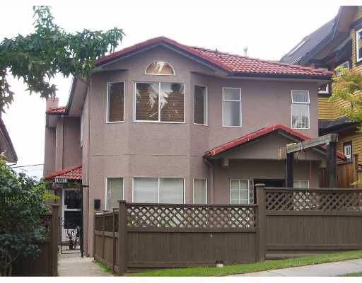 Main Photo: 1989 E 4TH AV in : Grandview VE 1/2 Duplex for sale : MLS®# V672561