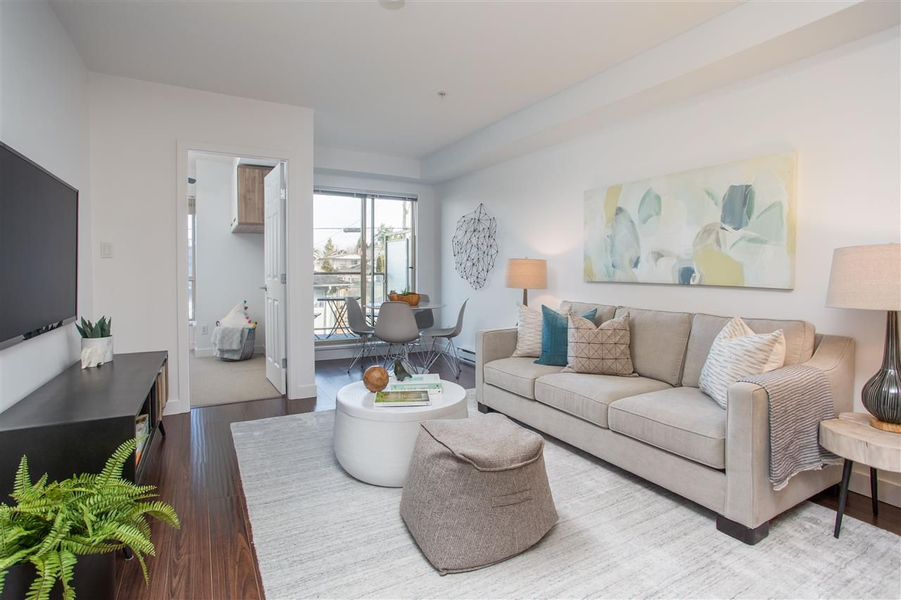 Main Photo: 202 702 E KING EDWARD Avenue in Vancouver: Fraser VE Condo for sale (Vancouver East)  : MLS®# R2438937
