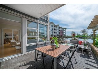 """Photo 3: 102 4500 WESTWATER Drive in Richmond: Steveston South Condo for sale in """"COPPER SKY WEST"""" : MLS®# R2266032"""