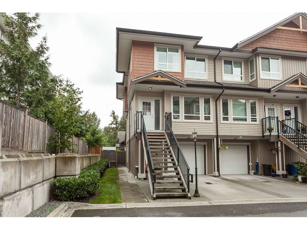 "Main Photo: 15 20187 68 Avenue in Langley: Willoughby Heights Townhouse for sale in ""VIRTUE"" : MLS®# R2403725"