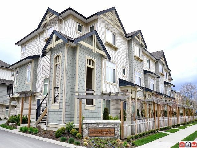 """Main Photo: 1 8418 163RD Street in Surrey: Fleetwood Tynehead Townhouse for sale in """"MAPLE ON 84"""" : MLS®# F1314758"""