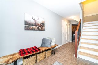"""Photo 2: 49 5556 PEACH Road in Chilliwack: Vedder S Watson-Promontory Townhouse for sale in """"The Gables at Rivers Bend"""" (Sardis)  : MLS®# R2541887"""