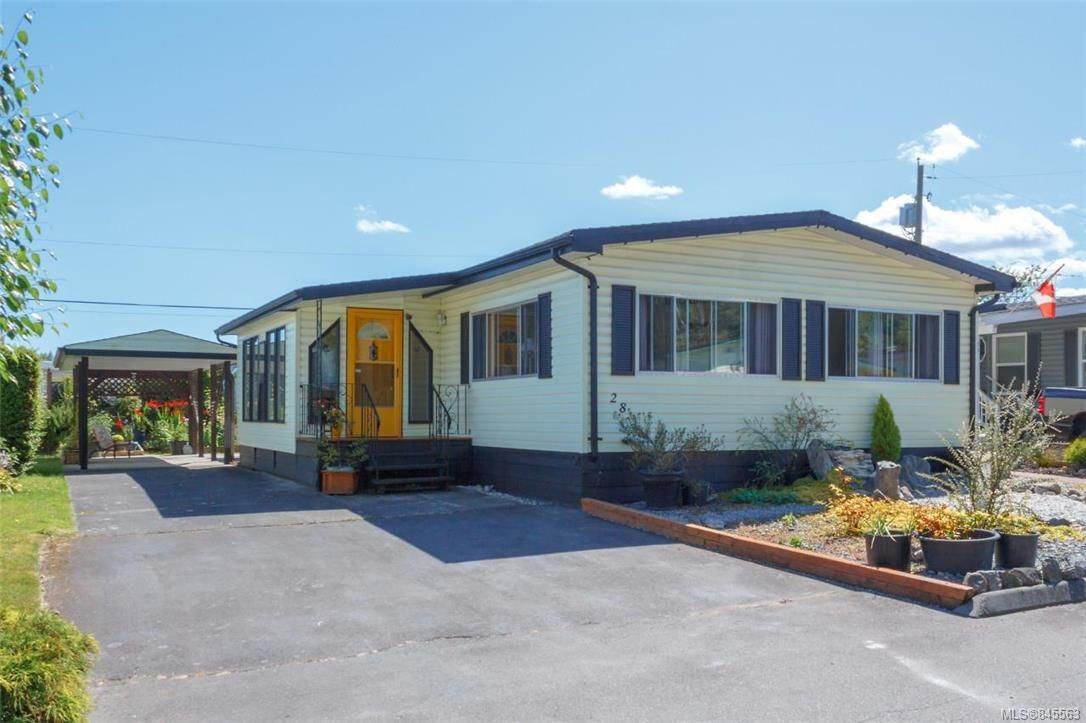 Main Photo: 28 7701 Central Saanich Rd in : CS Hawthorne Manufactured Home for sale (Central Saanich)  : MLS®# 845563