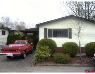 """Photo 1: 34 3300 HORN Street in Abbotsford: Central Abbotsford Manufactured Home for sale in """"GEORGIAN PARK"""" : MLS®# F2729389"""