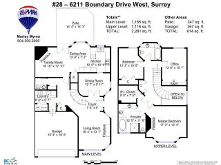 """Photo 20: 28 6211 W BOUNDARY Drive in Surrey: Panorama Ridge Townhouse for sale in """"LAKEWOOD HEIGHTS"""" : MLS®# F1421128"""