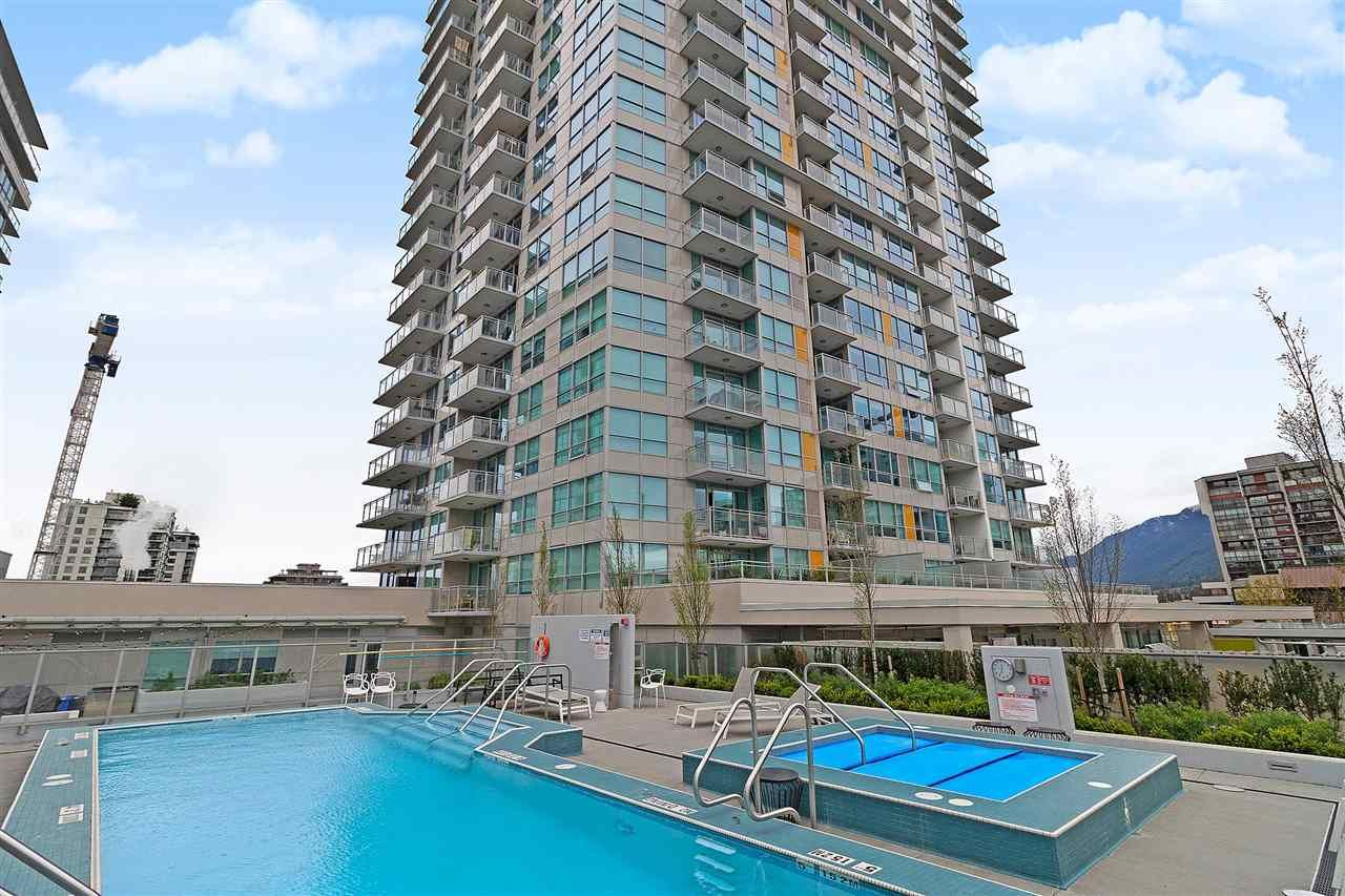 """Main Photo: 1210 125 E 14TH Street in North Vancouver: Central Lonsdale Condo for sale in """"CENTREVIEW B"""" : MLS®# R2383668"""