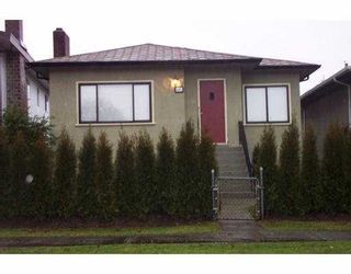 Photo 1: 121 E 42ND Ave in Vancouver: Main House for sale (Vancouver East)  : MLS®# V628107
