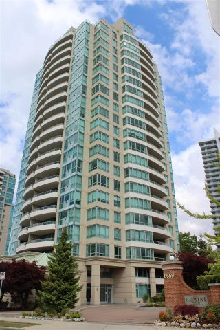 """Photo 1: 1104 6659 SOUTHOAKS Crescent in Burnaby: Highgate Condo  in """"GEMINI 2"""" (Burnaby South)  : MLS®# R2582918"""