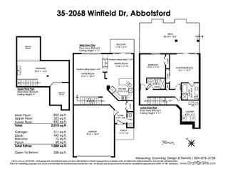 """Photo 20: 35 2068 WINFIELD Drive in Abbotsford: Abbotsford East Townhouse for sale in """"Summit"""" : MLS®# R2375475"""