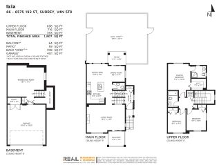"""Photo 35: 66 6575 192 Street in Surrey: Clayton Townhouse for sale in """"IXIA"""" (Cloverdale)  : MLS®# R2534902"""