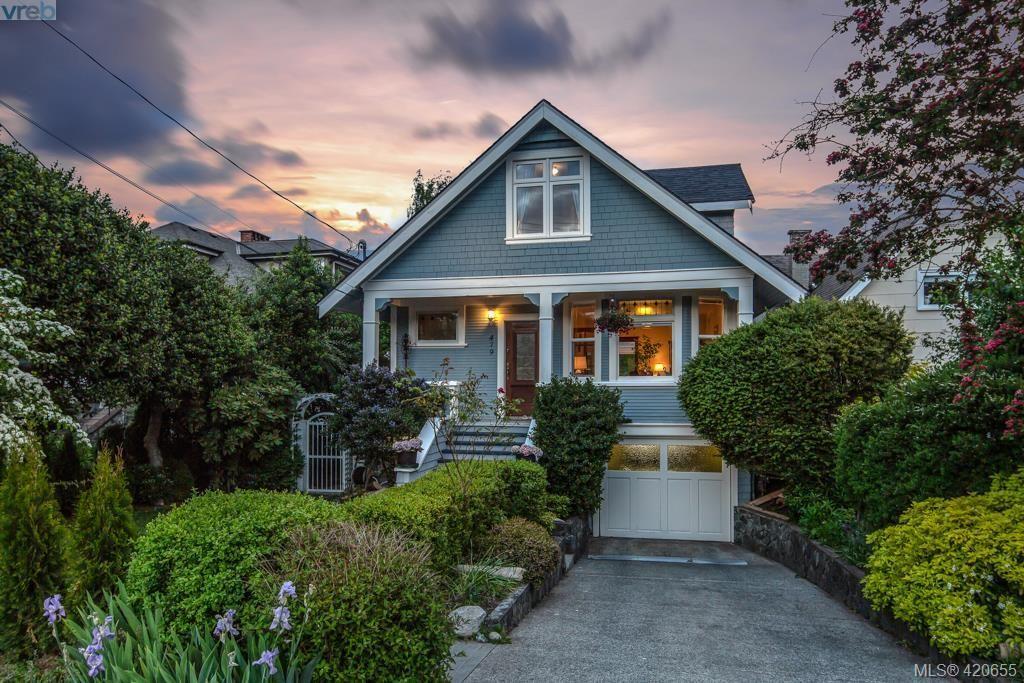 Main Photo: 479 Monterey Ave in VICTORIA: OB South Oak Bay House for sale (Oak Bay)  : MLS®# 832521