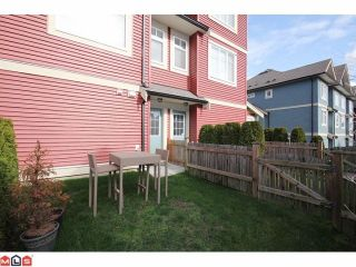 "Photo 9: 25 6635 192ND Street in Surrey: Clayton Townhouse for sale in ""Leafside Lane"" (Cloverdale)  : MLS®# F1204688"