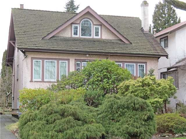 Main Photo: 2066 PARKER Street in Vancouver: Grandview VE House for sale (Vancouver East)  : MLS®# V1049152