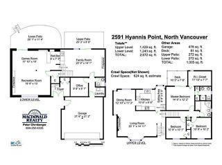 Photo 20: 2591 HYANNIS Point in North Vancouver: Blueridge NV House for sale : MLS®# V1024834