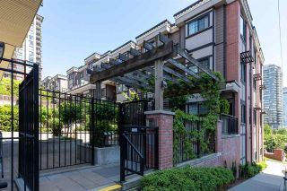 """Photo 1: 43 838 ROYAL Avenue in New Westminster: Downtown NW Townhouse for sale in """"Brickstone Walk 2"""" : MLS®# R2588785"""
