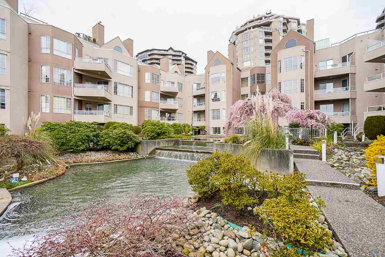 """Main Photo: 110 1150 QUAYSIDE Drive in New Westminster: Quay Condo for sale in """"WESTPORT"""" : MLS®# R2570528"""