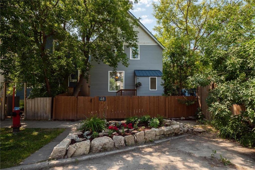 Main Photo: 48 Knappen Avenue in Winnipeg: Wolseley Residential for sale (5B)  : MLS®# 202117353