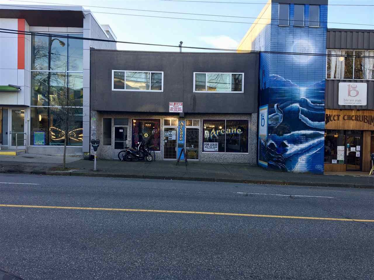 Main Photo: 1111 COMMERCIAL Drive in Vancouver: Grandview Woodland Retail for lease (Vancouver East)  : MLS®# C8035982
