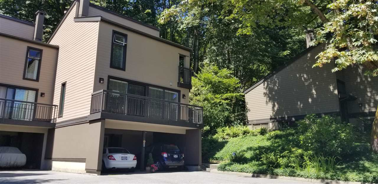 "Main Photo: 899 HERITAGE Boulevard in North Vancouver: Seymour NV Townhouse for sale in ""Heritage in the Woods"" : MLS®# R2472635"