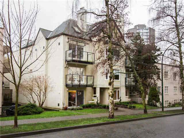 Main Photo: 205 1554 BURNABY STREET in : West End VW Residential Attached for sale : MLS®# V1116901