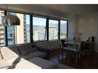 """Photo 5: 1414 1333 W GEORGIA Street in Vancouver: Coal Harbour Condo for sale in """"THE QUBE"""" (Vancouver West)  : MLS®# V831474"""
