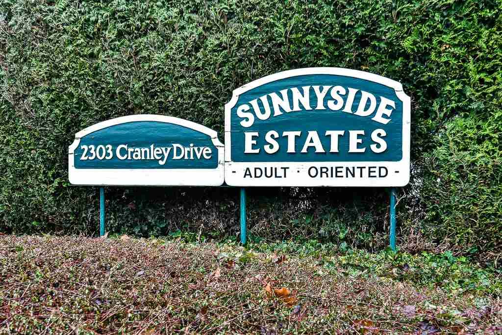 """Main Photo: 91 2303 CRANLEY Drive in Surrey: King George Corridor Manufactured Home for sale in """"Sunnyside"""" (South Surrey White Rock)  : MLS®# R2237731"""