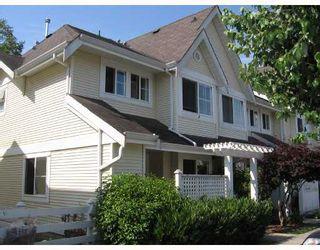 "Photo 1: 22 23560 119TH Avenue in Maple_Ridge: Cottonwood MR Townhouse for sale in ""HOLLYHOCK"" (Maple Ridge)  : MLS®# V659635"