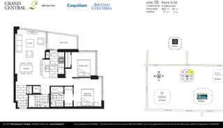 """Photo 33: 3205 2968 GLEN Drive in Coquitlam: North Coquitlam Condo for sale in """"Grand Central 2 by Intergulf"""" : MLS®# R2603826"""