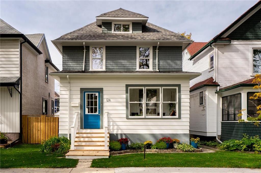 Main Photo: 126 Evanson Street in Winnipeg: Wolseley Residential for sale (5B)  : MLS®# 202017586