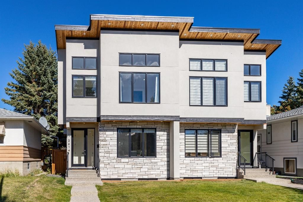 Main Photo: 2614 Exshaw Road NW in Calgary: Banff Trail Semi Detached for sale : MLS®# A1149563