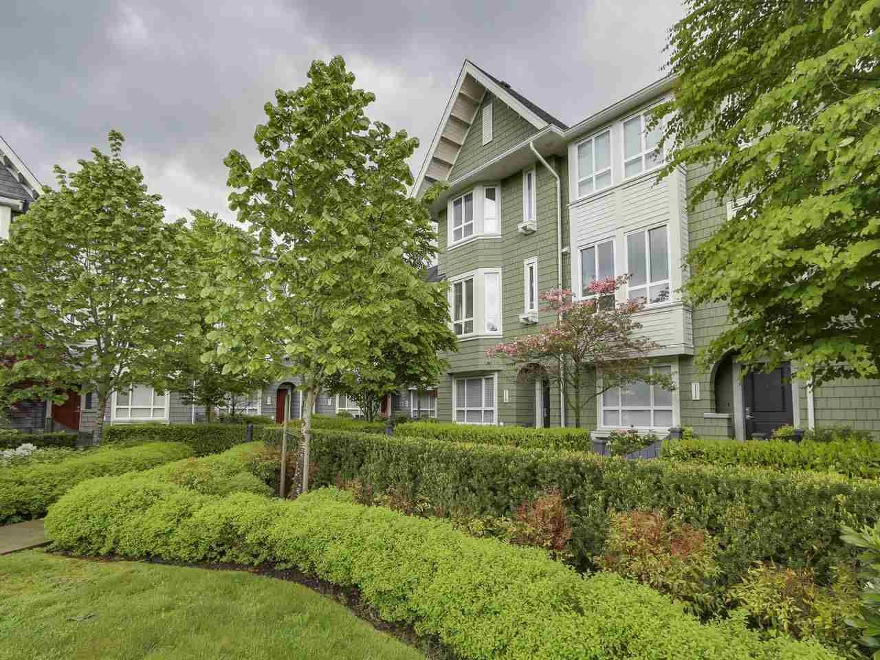Main Photo: # 110 - 2418 Avon  Place in Port Coquitlam: Riverwood Townhouse for sale : MLS®# R2166312
