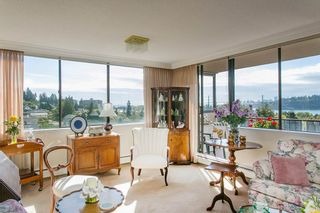 """Photo 7: 801 555 13TH Street in West Vancouver: Ambleside Condo for sale in """"PARKVIEW TOWERS"""" : MLS®# R2105654"""