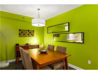 """Photo 4: 17 1350 W 6TH Avenue in Vancouver: Fairview VW Townhouse for sale in """"PEPPER RIDGE"""" (Vancouver West)  : MLS®# V1094949"""