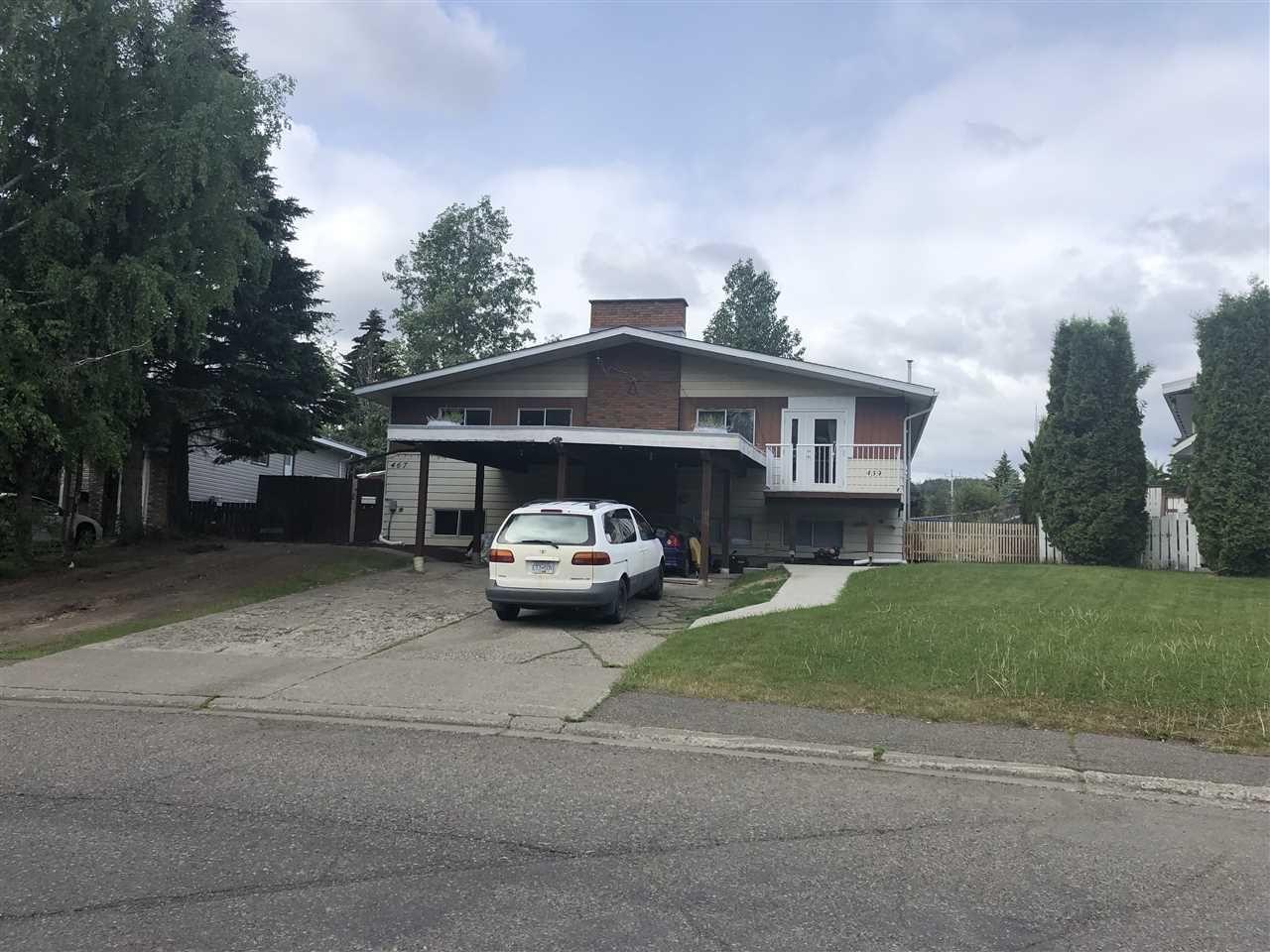 Main Photo: 459 - 467 BRIGADE Street in Prince George: Highglen Duplex for sale (PG City West (Zone 71))  : MLS®# R2376700