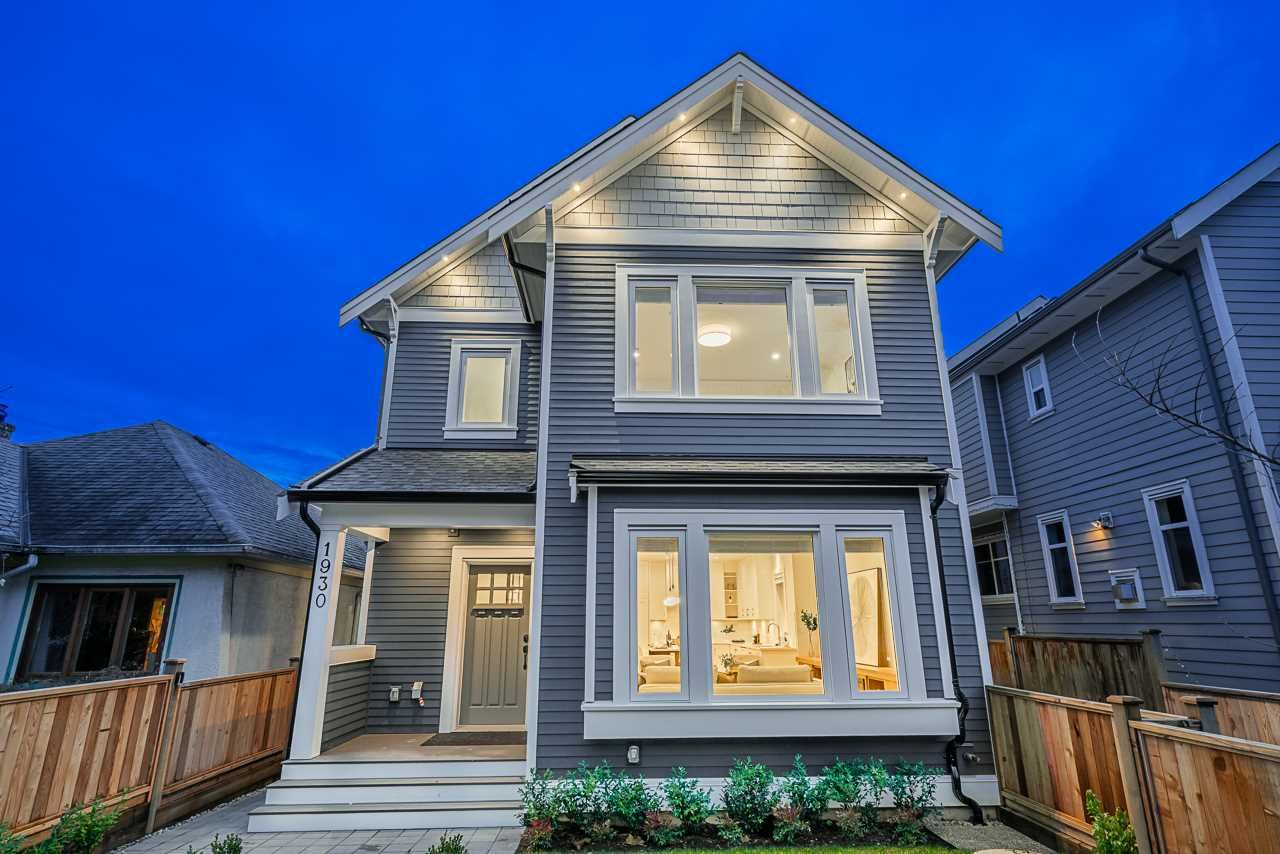 Main Photo: 1930 E 8TH Avenue in Vancouver: Grandview Woodland 1/2 Duplex for sale (Vancouver East)  : MLS®# R2433203