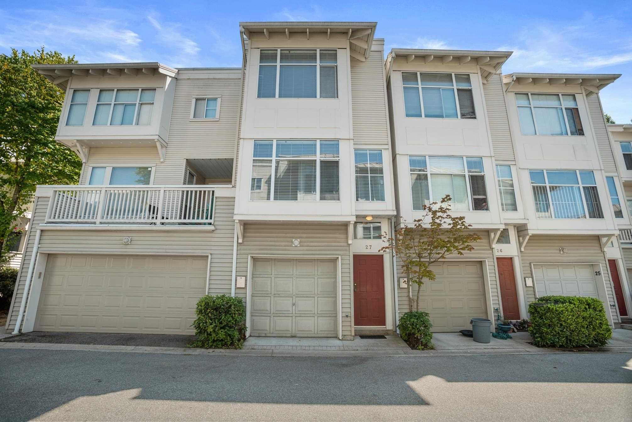 Main Photo: 27 12920 JACK BELL Drive in Richmond: East Cambie Townhouse for sale : MLS®# R2605416