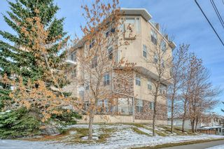 Photo 1: 114 6550 Old Banff Coach Road SW in Calgary: Patterson Apartment for sale : MLS®# A1045271