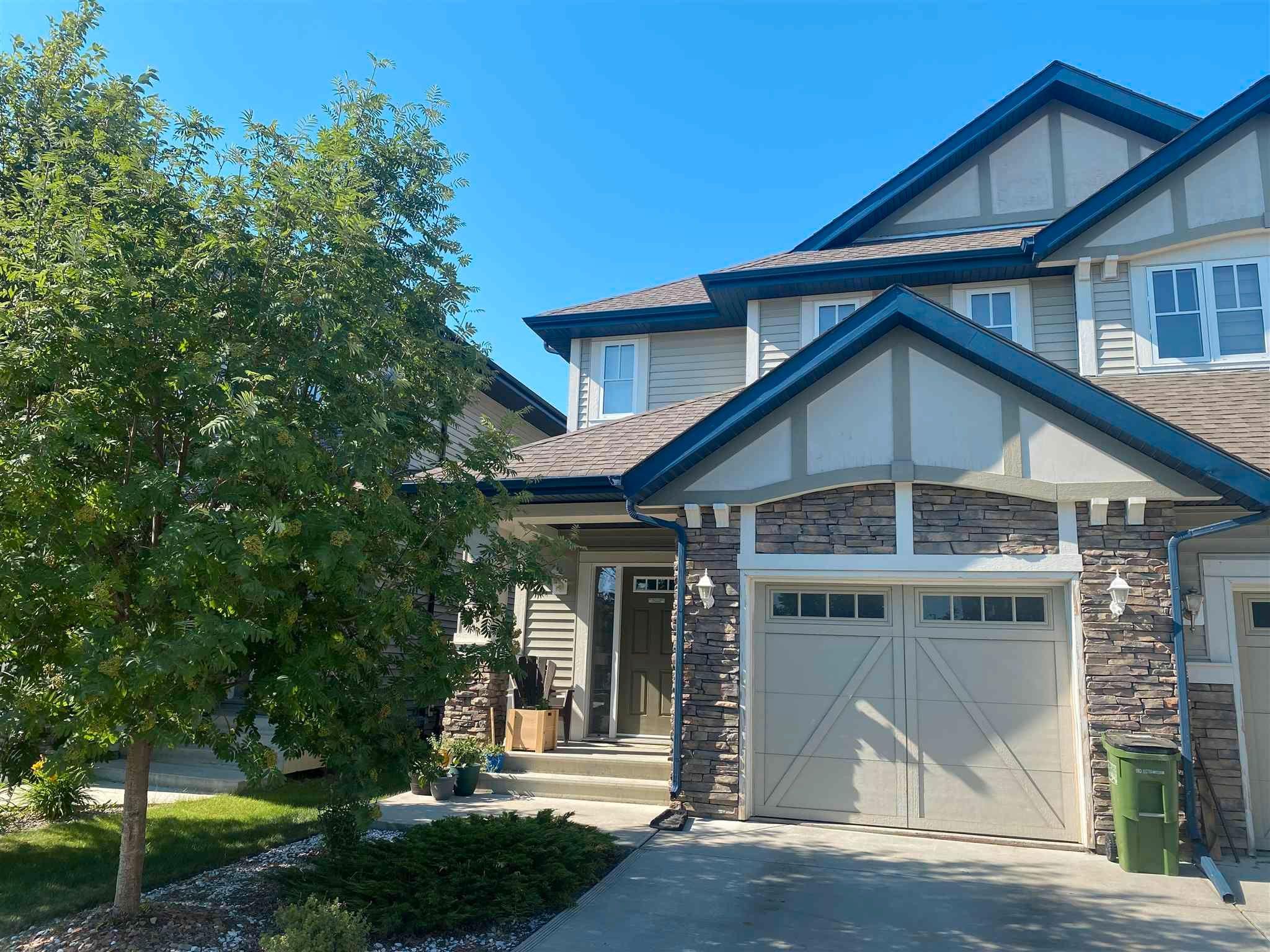 Main Photo: 2263 AUSTIN Way in Edmonton: Zone 56 House Half Duplex for sale : MLS®# E4261930