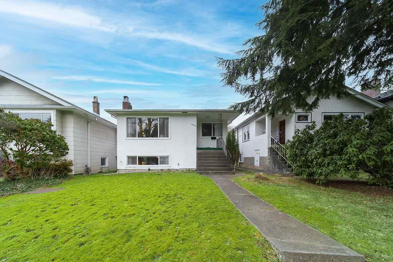 Main Photo: 4663 W 15TH Avenue in Vancouver: Point Grey House for sale (Vancouver West)  : MLS®# R2538320