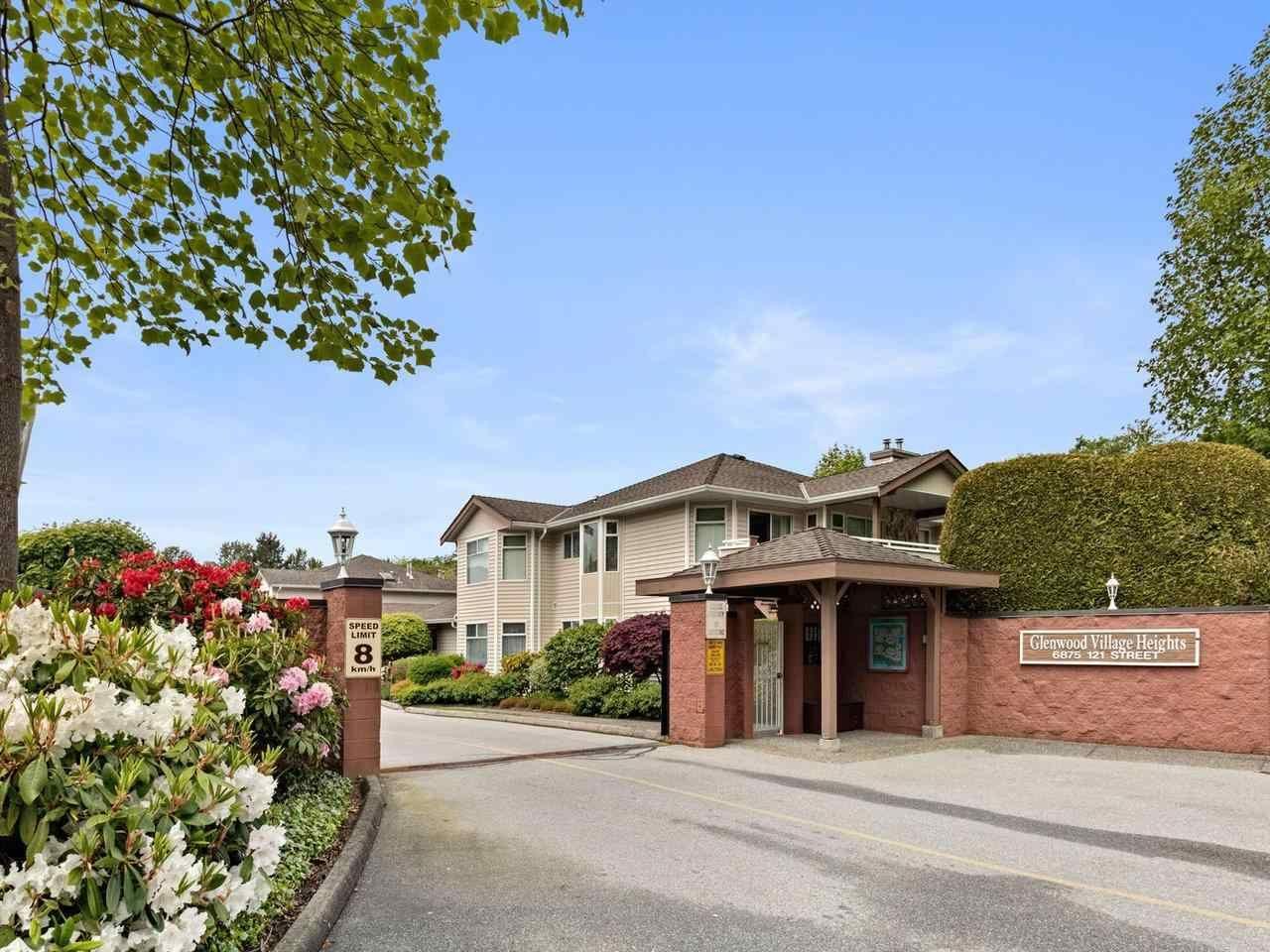 "Main Photo: 103 6875 121 Street in Surrey: West Newton Condo for sale in ""Glenwood Village"" : MLS®# R2579977"