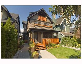 Photo 1: 3171 W 2ND Avenue in Vancouver: Kitsilano 1/2 Duplex for sale (Vancouver West)  : MLS®# V672584