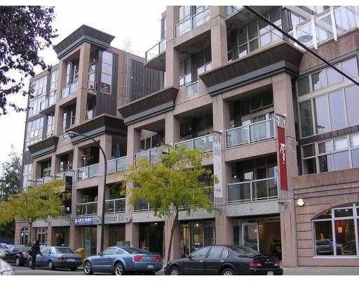 "Main Photo: 321 1529 W 6TH Avenue in Vancouver: False Creek Condo for sale in ""South Granville Lofts"" (Vancouver West)  : MLS®# V785813"