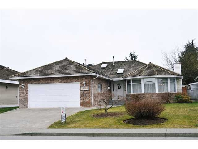 "Main Photo: 21988 126TH Avenue in Maple Ridge: West Central House for sale in ""DAVISON SUBDIVISION"" : MLS®# V1049101"