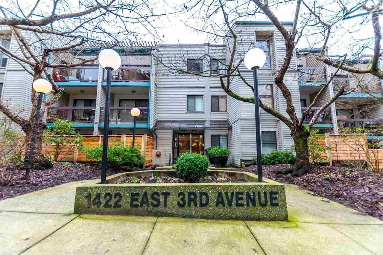 Main Photo: 215 1422 E 3RD AVENUE in : Grandview Woodland Condo for sale (Vancouver East)  : MLS®# R2147881