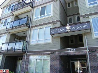 "Photo 1: 205 15368 17A Avenue in Surrey: King George Corridor Condo for sale in ""Ocean Wynde"" (South Surrey White Rock)  : MLS®# F1100152"