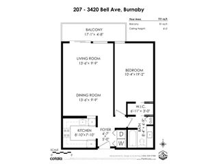 """Photo 24: 207 3420 BELL Avenue in Burnaby: Sullivan Heights Condo for sale in """"Bell park Terrace"""" (Burnaby North)  : MLS®# R2525791"""