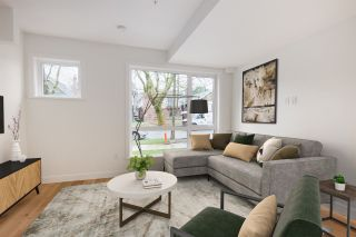 """Photo 3: 3671 W 11TH Avenue in Vancouver: Kitsilano Townhouse for sale in """"Elysian West"""" (Vancouver West)  : MLS®# R2557741"""